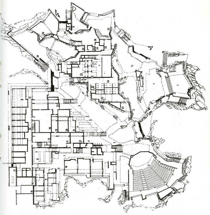 Raili y Reima Pietila | Centro de Estudiantes Dipoli | Espoo; Finlandia | 1960-1966