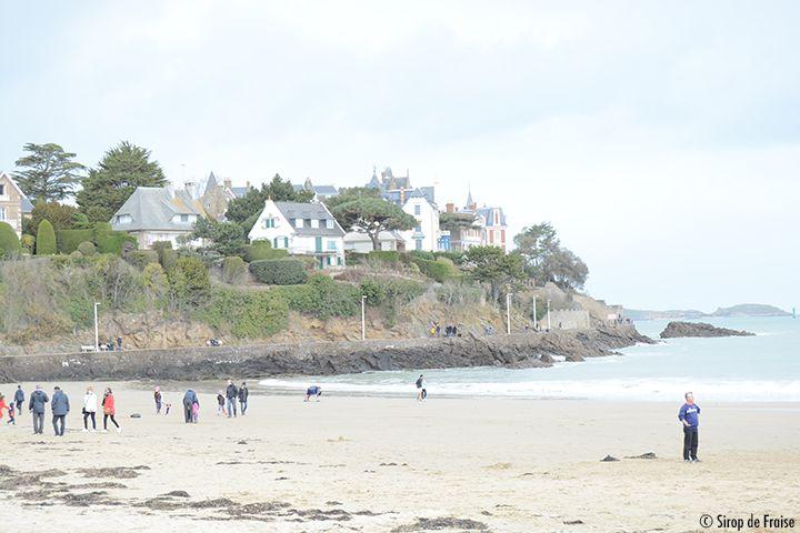 Dinard plage de sable