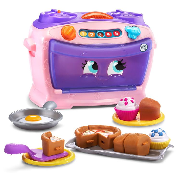 Number Lovin' Oven - Online Exclusive Pink | From counting and cooking to serving and sharing, it's preschool prep for little chefs—16 fun ingredients included!