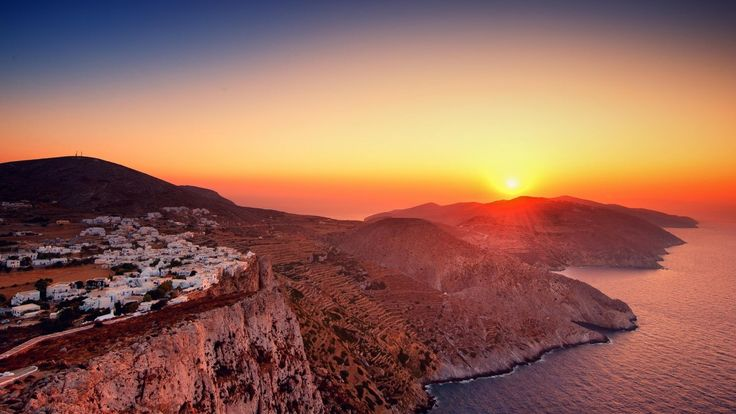 Folegandros, Sunset