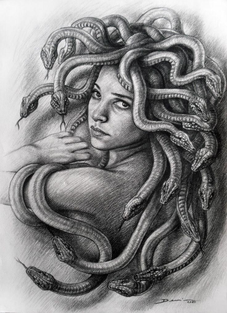 ** Medusa ** | Medusa | Pinterest | Medusa art, Art and Search