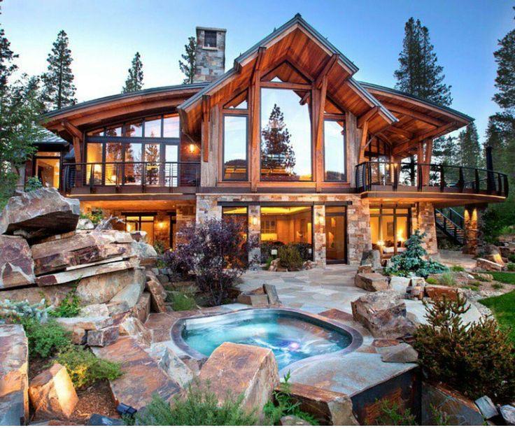 Best 20 Luxury Cabin Ideas On Pinterest Log Cabin