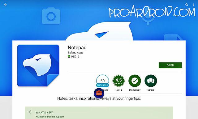 تحميل تطبيق المفكرة Notepad By Splend Apps لتدوين الملاحظات بسهولة للاندرويد النسخة المدفوعة باخر تحديث أدلر ملاحظات حرة كامل ا Note Pad App Material Design