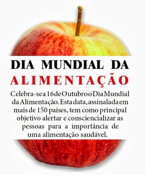 16 de outubro dia mundial da alimentação