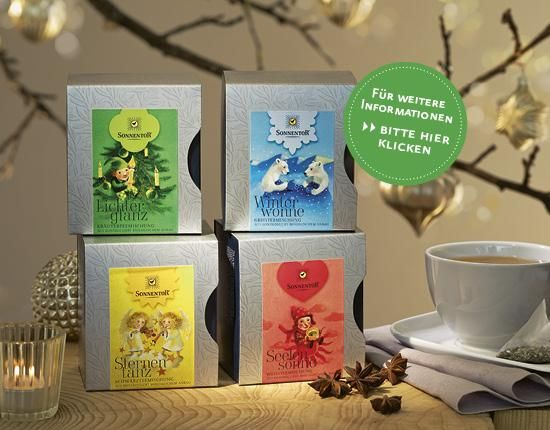#Sonnentor #Tee #Lichterglanz #Winterwonne #Sternentanz #Seelensonne