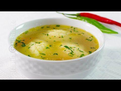Supa de pui cu galuste | JamilaCuisine - YouTube