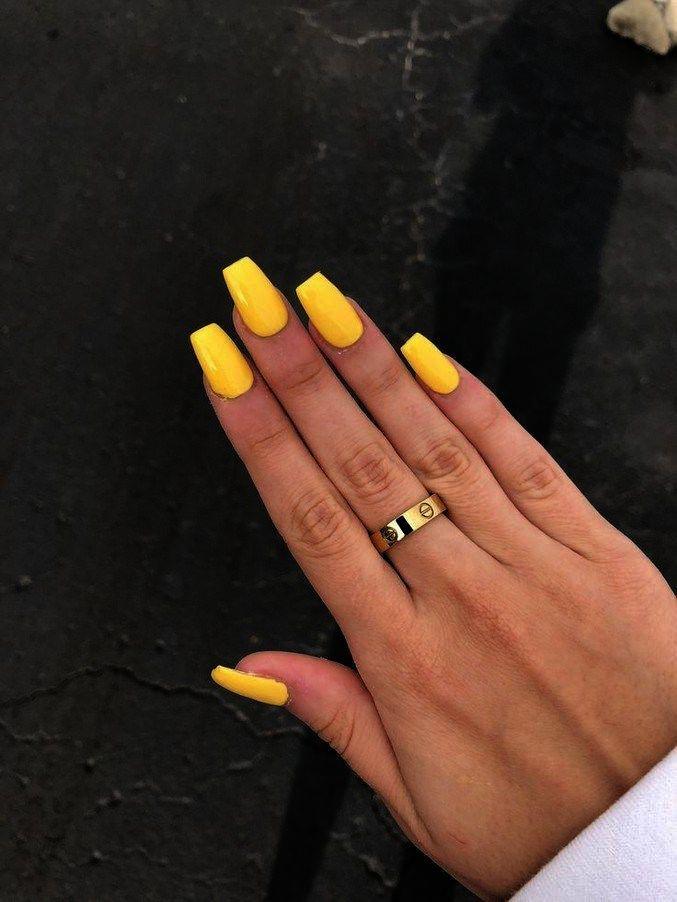 Home Blend Of Bites Yellow Nails Yellow Nail Art Yellow Nails Design
