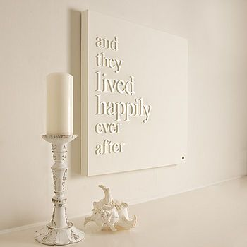 'Happily Ever After' Canvas