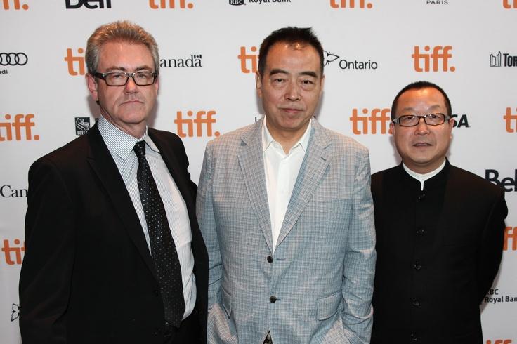 Piers Handling, Chen Kaige and Fu Hongxing