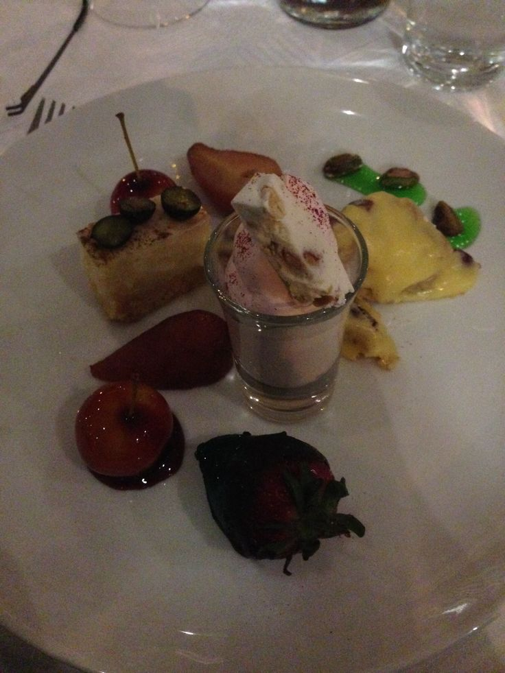 Mad Hatters dessert. It was so good with had to share another angel @ The Peninsula Hotel