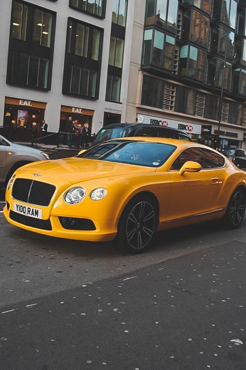 bentley continental looks like one hell of a taxi autos super cars pinterest cars. Black Bedroom Furniture Sets. Home Design Ideas