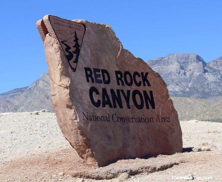 Red Rock Canyon Outside of Las Vegas , Nevada
