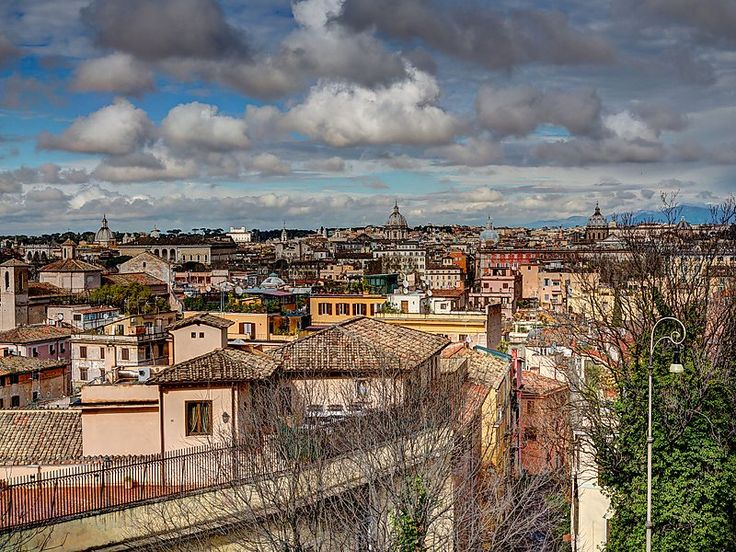 Trastevere in Rome, Italy | The 13th rione (administrative district) of Rome and a labyrinth of narrow streets. Its history dates back to the Etruscan civilisation and the ancient Rome times when Julius Caesar (among other important Romans) had his villa built here. Nowadays, it is a place of rich cultural and social life.
