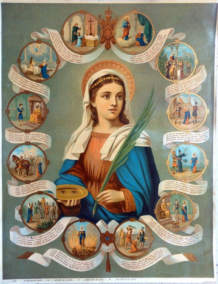 Santa Lucía virgen y mártir
