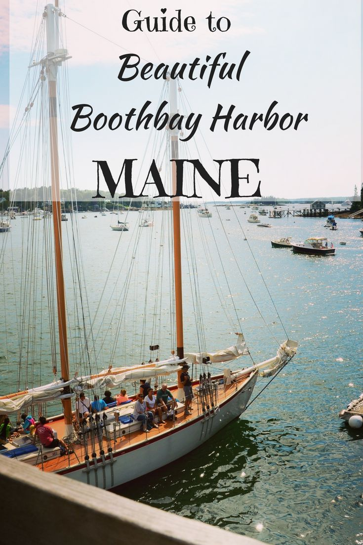Travel guide to Boothbay Harbor, Maine. Quintessential New England! See this article for things to do with the family.