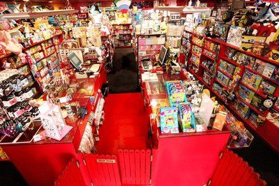 Red Rocket Toy Store