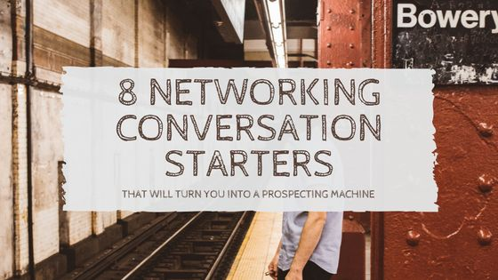 Do you want to know 8 networking conversation starters that will turn YOU into a prospecting machine  Repin or Share this with your team members who needs to see this  http://successwithpeternguyen.com/8-networking-conversation-starters/