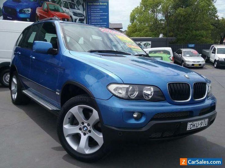 2004 BMW X5 E53 3.0I Blue Automatic 5sp A Wagon #bmw #x5 #forsale #australia