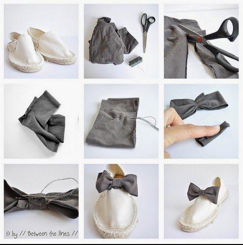 DIY Tutorial, adorna tus zapatillas..   Belleza