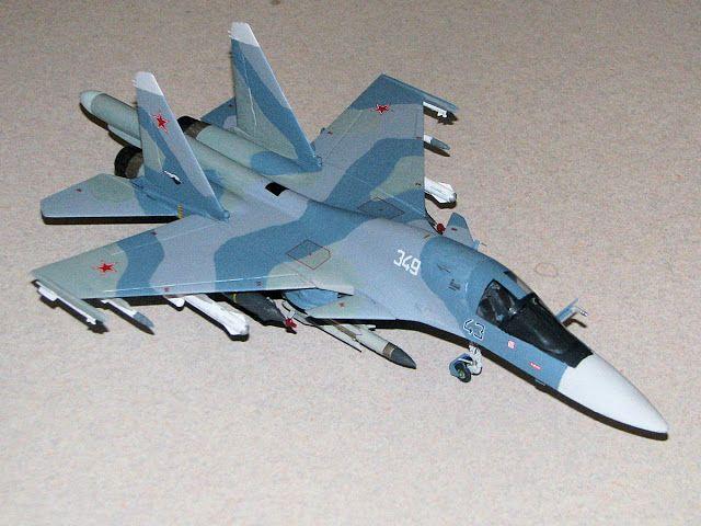 Scale Model Videos: Build References: Italeri 1:72 SU-34 Fullback