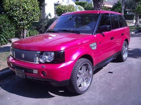 Pink Range Rover! | LUUUX