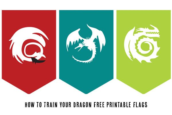 Free Printables | How to Train Your Dragon -