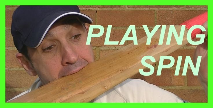 Cricket Coaching Batting Tips Playing Against Spin Bowling Right handed
