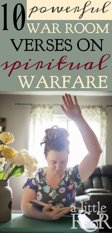 10 Powerful War Room Verses On Spiritual Warfare With Images Spiritual Warfare Prayers War Room Prayer Prayer Scriptures