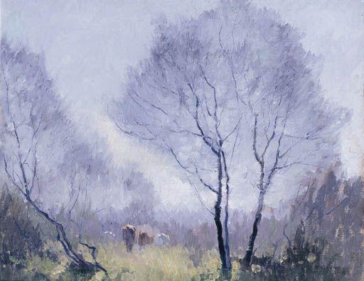 Frosty Morn de Elioth Gruner (1882-1939, New Zealand)
