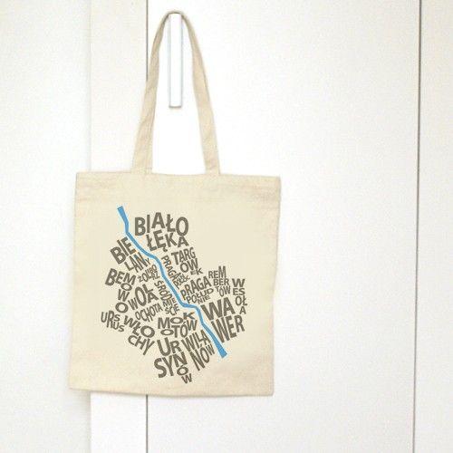 torby na zakupy - damskie-Torba Warszawa
