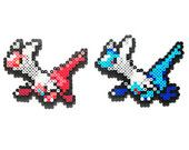 Pokemon Generation 3 Legendaries Perler - Latias / Latios