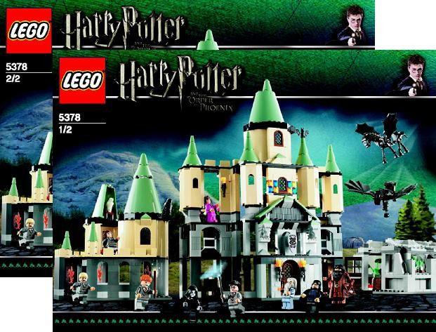 LEGO INSTRUCTION BOOKS for SET 5378 HARRY POTTER HOGWARTS ...
