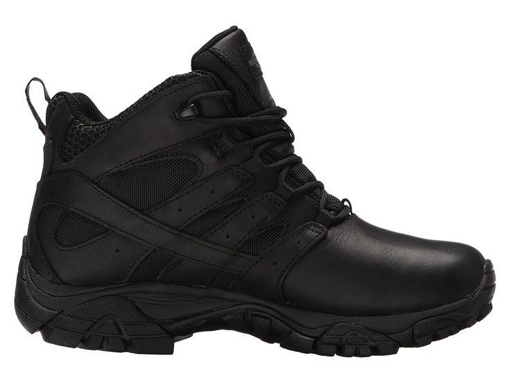 Merrell Work Moab 2 Mid Tactical Response Waterproof Women's Industrial Shoes Black