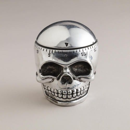 One of my favorite discoveries at WorldMarket.com: Skull Timer