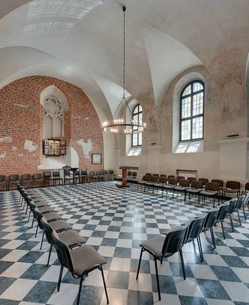 Krakow's monastery for a conference: to inject a sense of gravity and contemplation into their conference meeting