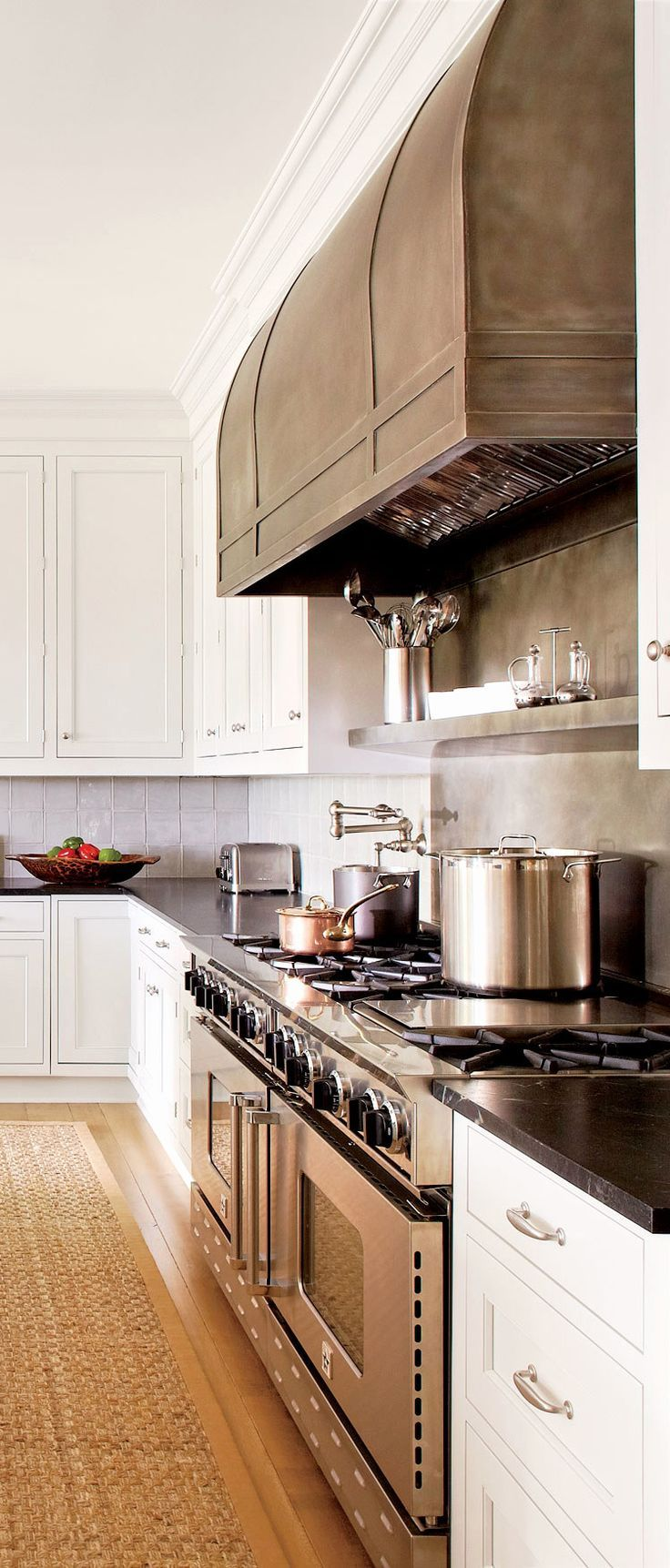 Build Your Own Kitchen Cabinet Beautiful Neutral Kitchen With Wood Floors White Cabinets And