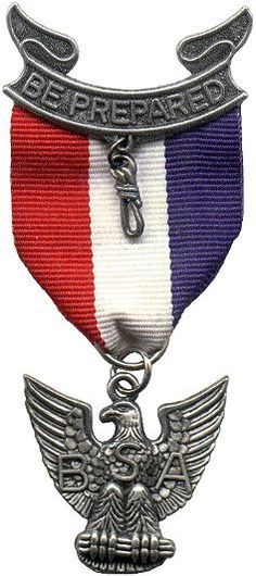 Eagle Scout embl | Large Eagle Scout Badge and Medal Image for Presentations