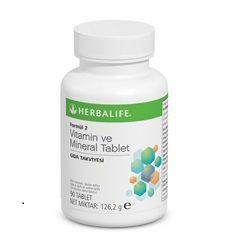 Formül 2 Vitamin ve Mineral Tablet