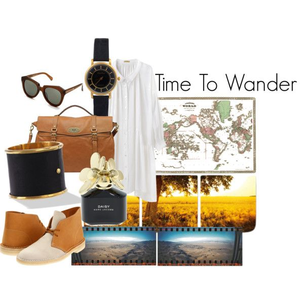 """""""Time To Wander"""" by jessycoco on Polyvore"""