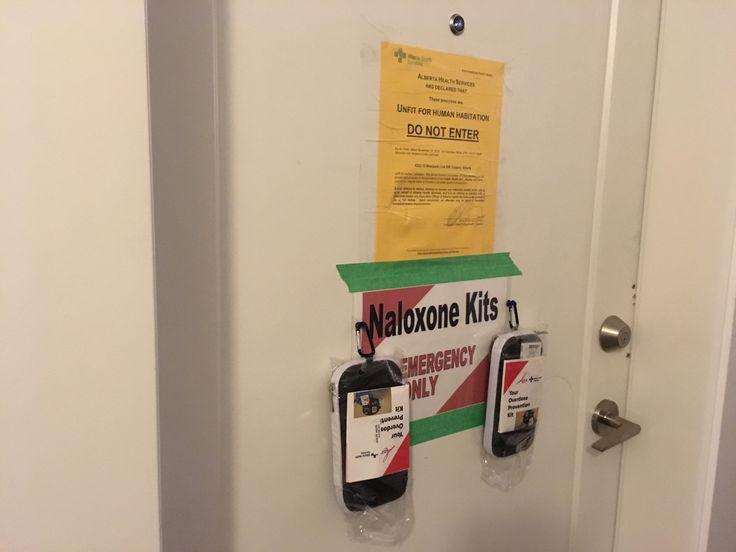 Naloxone Kit on remediation site
