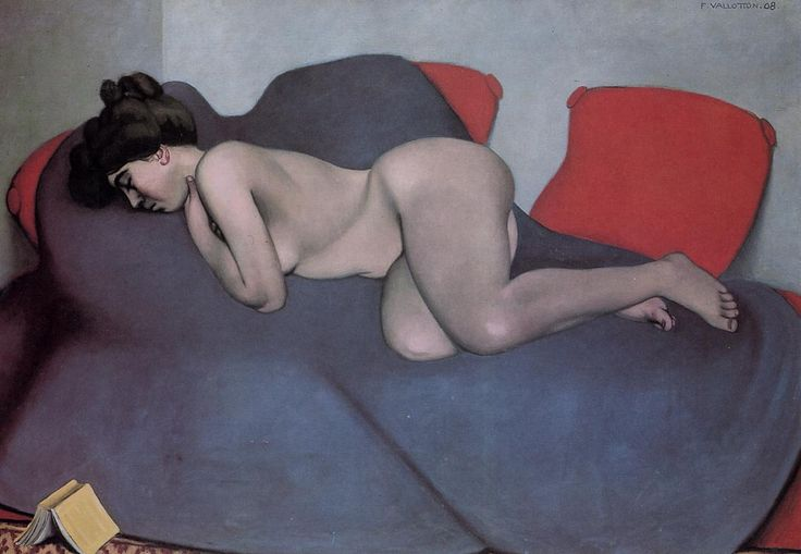 """sleep (1908) félix vallotton """