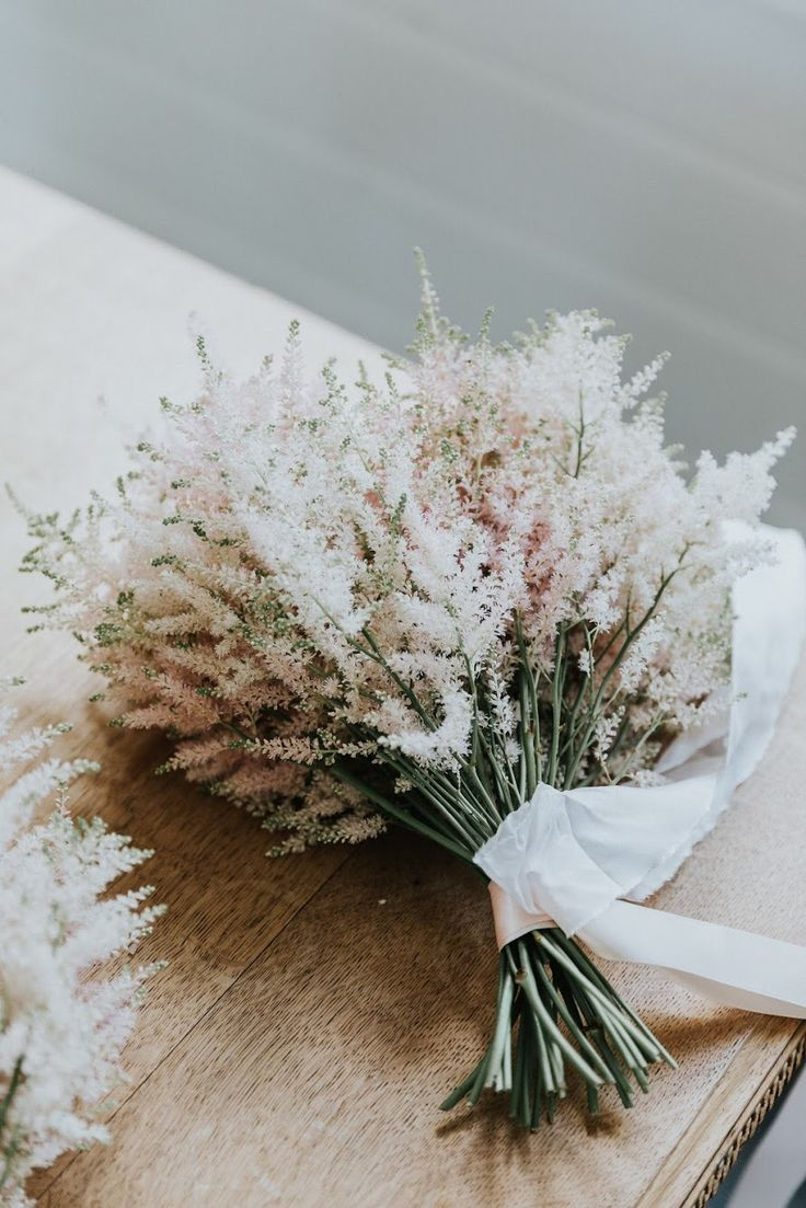 Astilbe bouquet by Emma Blake Floral / Photography by Jonathan David
