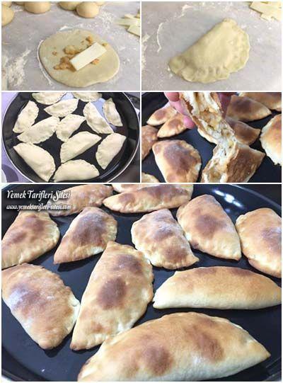 Kaşarlı Patatesli Pita Ekmeği Tarifi
