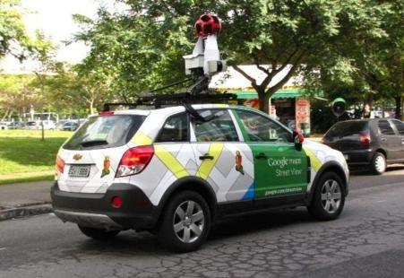 Ya llegaron los carros de Street View a Colombia