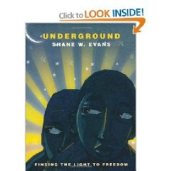 A family silently crawls along the ground. They run barefoot through unlit woods, sleep beneath bushes, take shelter in a kind stranger's home. Where are they heading? They are heading for Freedom by way of the Underground Railroad.Underground Railroad, Shane, Sleep Beneath, Evans, Black History, Children Book, History Month, Pictures Book, Coretta Scott King