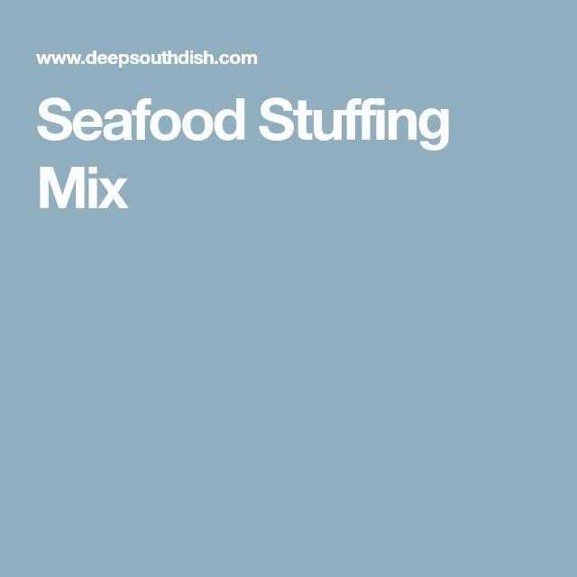 Seafood Stuffing Mix