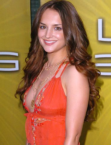 Rachael Leigh Cook--Simply Gorgeous; met while filming for a show in mtl