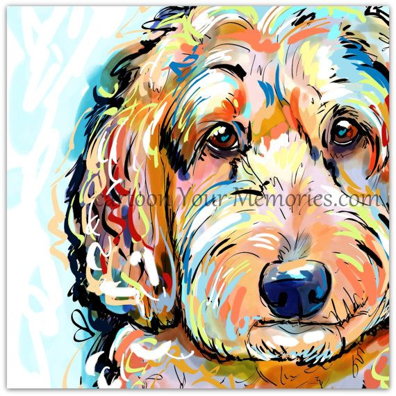 All my paintings are painted on my computer.They are painted in high resolution so it can be printed without it being distorting. ll prints up to 11x11 will be Mounted and shipped out flat. any prints larger will need to be shipped rolled and not mounted. WILL THIS LOOK LIKE YOUR PET WITH A LITTLE TWEAKING? CLICK HERE https://www.etsy.com/listing/255153034/tweak?ref=shop_home_active_16 IF YOU ARE LOOKING FOR A CUSTOM PET PORTRAIT HERE IS THE LINK…