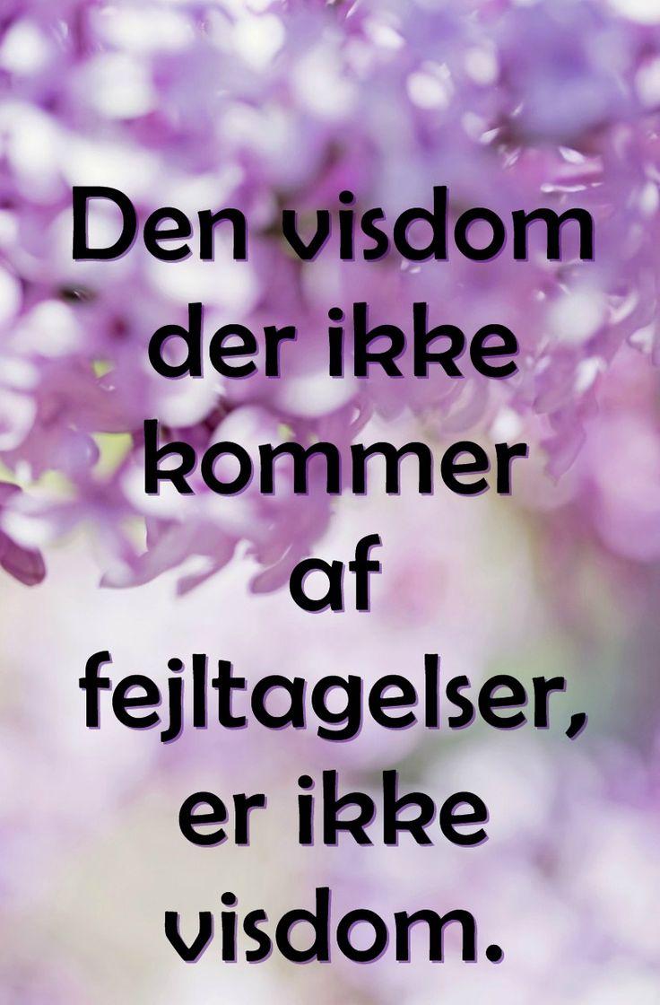 sagt om visdom