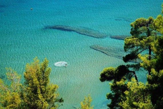 Παραλία Σουτσινι, Κύμη Εύβοια, Soutsini beach Kymi Evia Greece